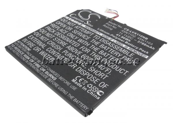 Batteri til Lenovo Thinkpad x1 helix - 3.780 mAh