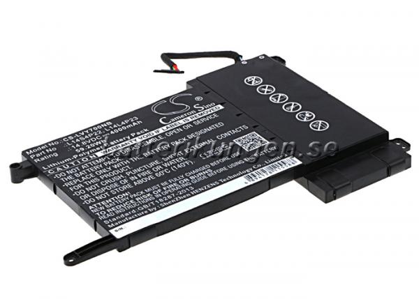 Batteri til Lenovo Eraser Y700 mfl - 4.000 mAh