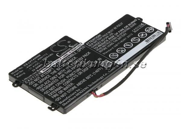 Batteri til Lenovo Thinkpad K2450 mfl - 2.000 mAh