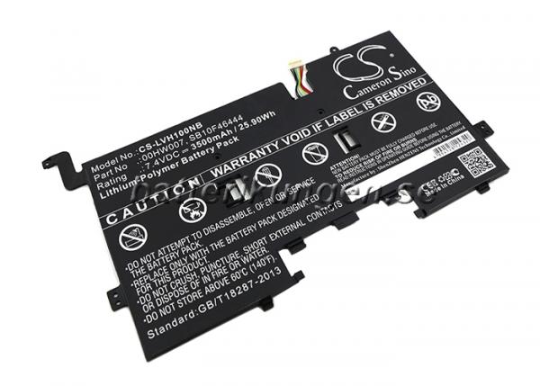 Batteri til Lenovo ThinkPad Helix - 3.500 mAh