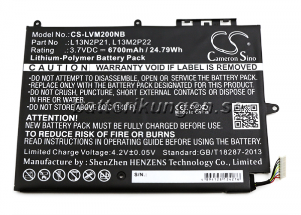 Batteri til Lenovo Miix 2 mfl - 6.700 mAh