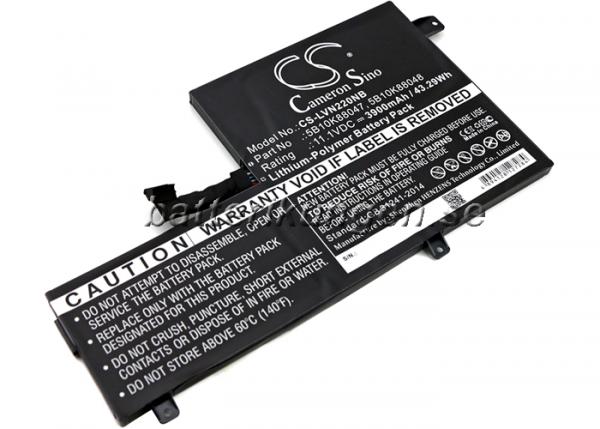 Batteri til Lenovo Chromebook N22 mfl - 3.900 mAh