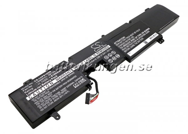 Batteri til Lenovo IdeaPad Y900 mfl - 8.100 mAh