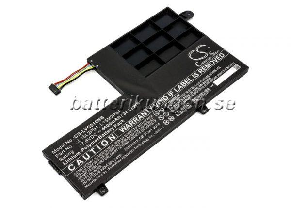 Batteri til Lenovo Yoga 510 mfl - 4.600 mAh