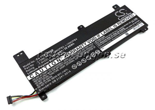 Batteri til Lenovo Chromebook 100s mfl - 3.800 mAh