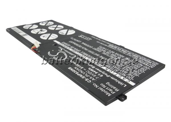 Batteri til Samsung NP930X5J mfl - 8.150 mAh