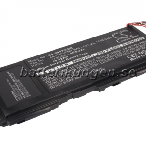 Batteri til Samsung NP700Z3A mfl - 4.400 mAh