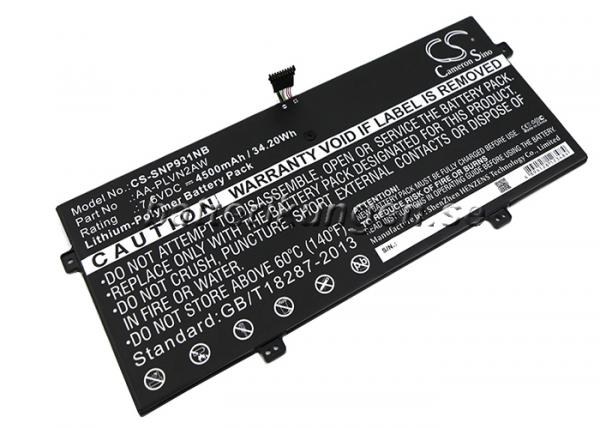 Batteri til Samsung ATIV BOOK 9 mfl - 4.500 mAh