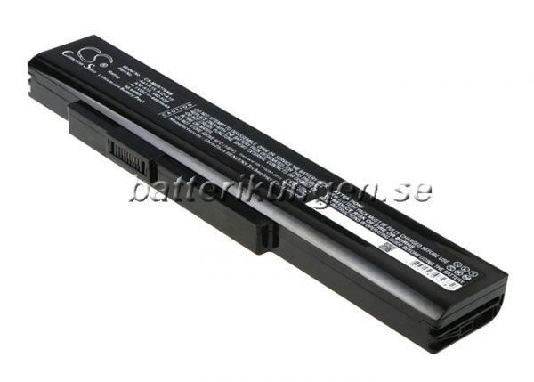 Batteri til MSI A6400 mfl - 4.400 mAh