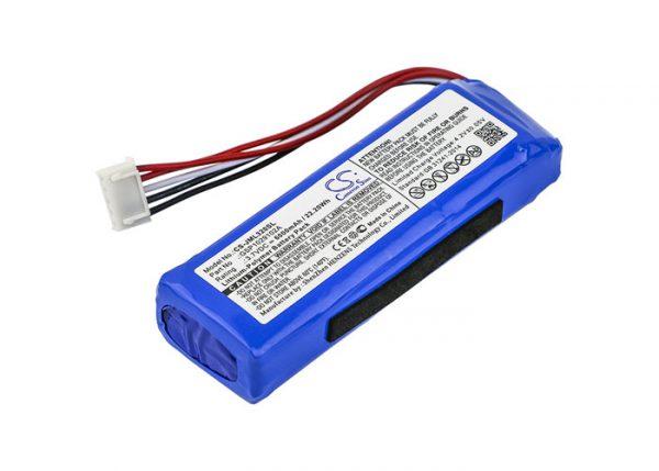 Batteri til JBL Charge 3 2016 - 6.000 mAh