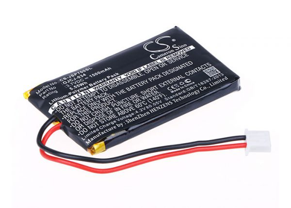 Batteri til JVC SP-AD70-A mfl - 1.500 mAh