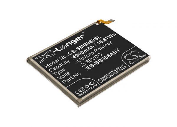 Batteri til Samsung Galaxy S20 Ultra mfl - 4.900 mAh