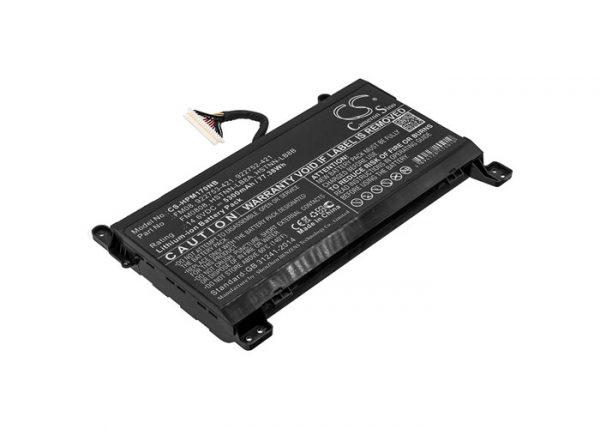 Batteri til HP Omen 17-AN mfl - 5.300 mAh