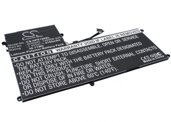 Batteri til HP ElitePad 1000 mfl - 4.150 mAh