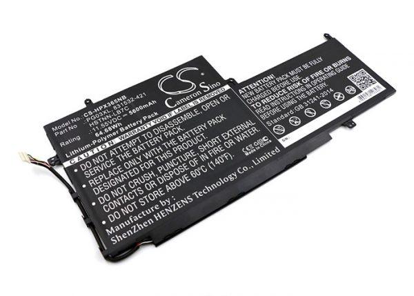 Batteri til HP Gaming Pavilion 15-dk0001ne mfl - 5.600 mAh