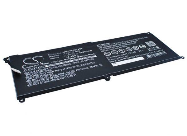 Batteri til HP Pro x2 612 G1 - 3.800 mAh